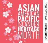 asian american pacific islander ...   Shutterstock .eps vector #1968607552