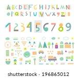 fun and cute paper cut alphabet ...