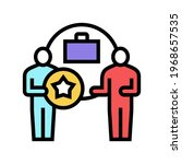 business bonus color icon...   Shutterstock .eps vector #1968657535