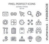 devops related editable stroke...   Shutterstock .eps vector #1968680638
