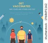get vaccination poster design...   Shutterstock .eps vector #1968691162