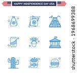9 creative usa icons modern...   Shutterstock .eps vector #1968699388