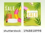 summer sale poster template for ... | Shutterstock .eps vector #1968818998