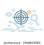 target reseach business... | Shutterstock .eps vector #1968825082