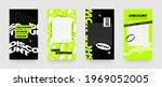 stories template set for banner ... | Shutterstock .eps vector #1969052005