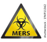 mers middle east respiratory... | Shutterstock .eps vector #196911362