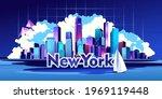 vector horizontal illustration  ... | Shutterstock .eps vector #1969119448