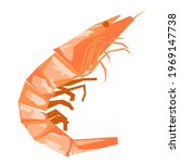 shrimp vector stock... | Shutterstock .eps vector #1969147738