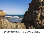 Rocky Cliffs Overlooking The...