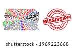 brazil distrito federal map... | Shutterstock .eps vector #1969223668