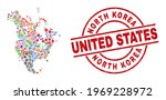 north america v2 map mosaic and ...   Shutterstock .eps vector #1969228972