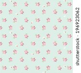 Pattern With Pink Flowers ...