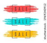 flat promotion original banner  ... | Shutterstock .eps vector #1969240912