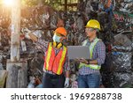 Recycling Industry A Worker Who ...