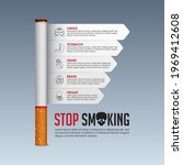 may 31st world no tobacco day... | Shutterstock .eps vector #1969412608
