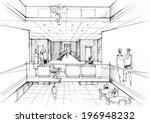 office interior | Shutterstock . vector #196948232