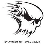 skull | Shutterstock .eps vector #196965326