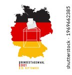 germany 2021 federal parliament ...   Shutterstock .eps vector #1969662385