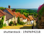 Shaftesbury  Dorset  Sun...