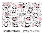 little panda   big clipart...   Shutterstock .eps vector #1969712248