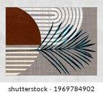 botanical wall art retro prints ... | Shutterstock . vector #1969784902