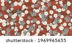 seamless pattern with tiny...   Shutterstock .eps vector #1969965655