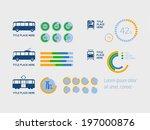 transportation infographic... | Shutterstock .eps vector #197000876