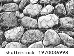 distressed overlay texture of... | Shutterstock .eps vector #1970036998