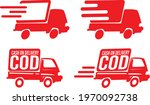 cash on delivery icon vector... | Shutterstock .eps vector #1970092738