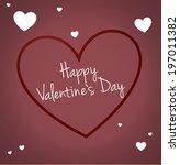 valentines day | Shutterstock . vector #197011382