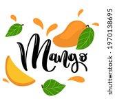 vector set of mango  slice ...   Shutterstock .eps vector #1970138695