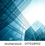 panoramic and perspective wide... | Shutterstock . vector #197018942