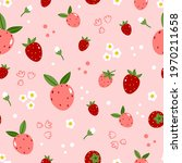 summer seamless pattern with... | Shutterstock .eps vector #1970211658