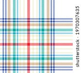 colourful plaid textured...   Shutterstock .eps vector #1970307635