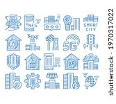 smart city technology sketch...   Shutterstock .eps vector #1970317022