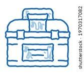 toolbox case sketch icon vector....   Shutterstock .eps vector #1970317082