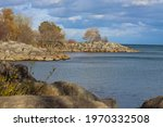 View Of Bluffers Park   Lake On ...