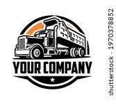 dump trucking company logo...   Shutterstock .eps vector #1970378852