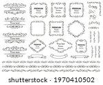 calligraphic design elements .... | Shutterstock .eps vector #1970410502