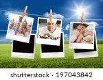 composite image of instant... | Shutterstock . vector #197043842