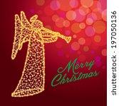 merry christmas   Shutterstock .eps vector #197050136