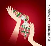 garland   Shutterstock .eps vector #197050142