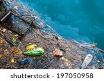 Water Pollution Old Garbage An...