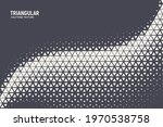 triangular halftone pattern...   Shutterstock .eps vector #1970538758