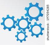 gear | Shutterstock .eps vector #197054285