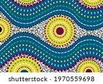 african wax print fabric ... | Shutterstock .eps vector #1970559698