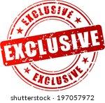 vector illustration of red... | Shutterstock .eps vector #197057972