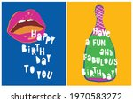 Birthday Party Vector Cards....