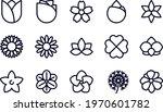 flower   line icons vector...   Shutterstock .eps vector #1970601782