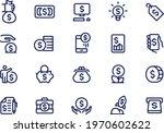 finance money business outline...   Shutterstock .eps vector #1970602622